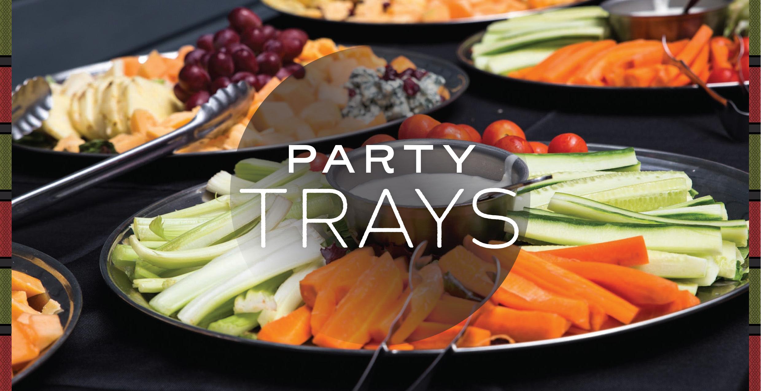 Raintree Party Trays